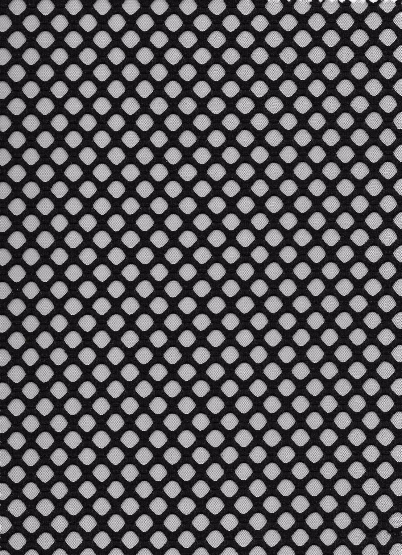 Black Bonded Fishnet 6900