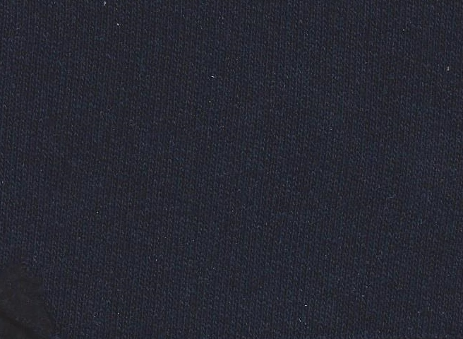 50% Recycled Yarn - Cotton Rich Sweatshirting - 6535 Navy