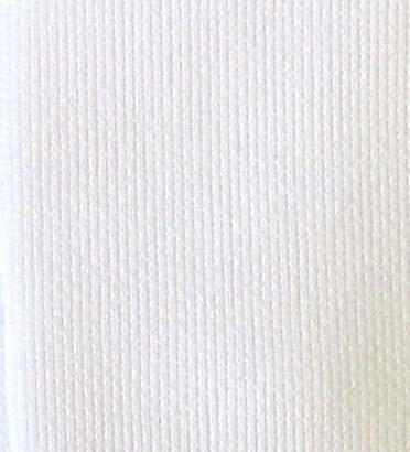8190 - 100% Organic Cotton Interlock White