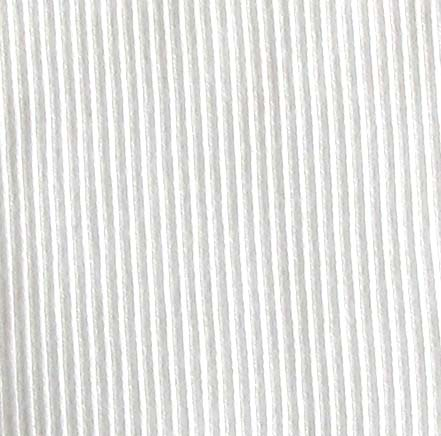 9385 -  Cotton/Elastane 2 x 2 Rib, WHITE